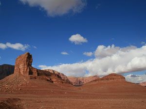 Entering Glen Canyon Recreation area