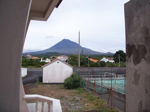 View of Pico from Mini Bella