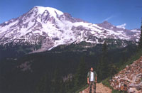 View of Mount Rainier